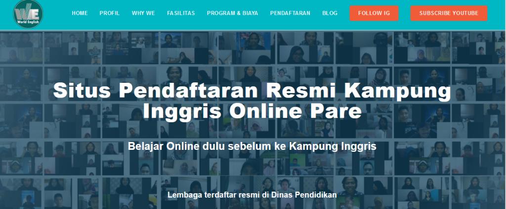Situs Kampung Inggris Online