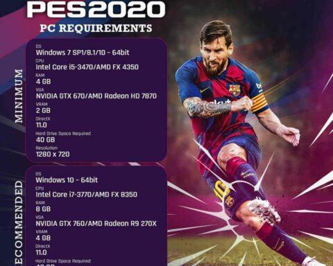 Spesifikasi PC untuk PES 2020 yang Mumpuni dan Terbaik